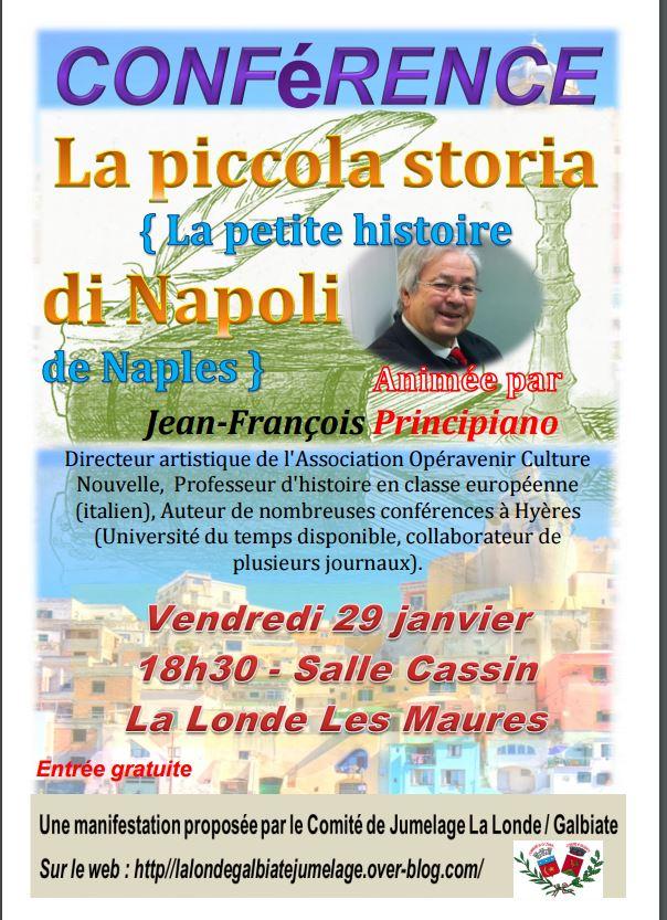 conférence sur l'Histoire de Naples