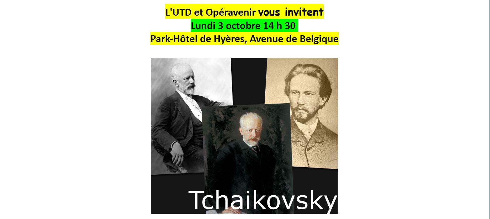 Tchaikowski 1