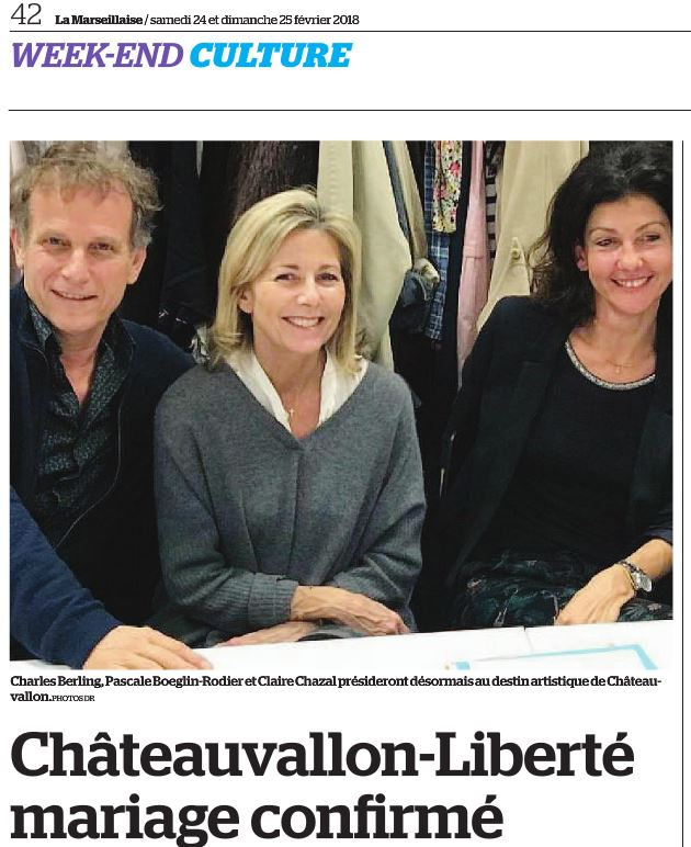 Chateauvallon Liberté Mariage ou Union libre?